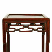 Late 19th Century Chinese Rosewood Stand (3 of 8)