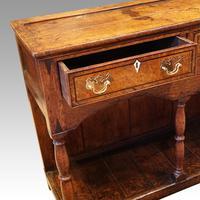 Georgian Oak Inlaid Dresser Base (3 of 11)