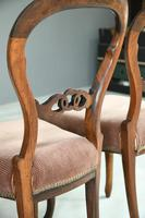 Set of 4 Rosewood Balloon Back Dining Chairs (12 of 12)