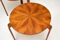 Pair of Vintage Walnut Bentwood Stacking Stools / Side Tables (3 of 8)