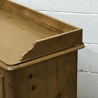 Late Victorian Pine Chest of Drawers (4 of 6)