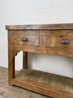 Reclaimed Wooden Sideboard with Two Drawers (4 of 10)