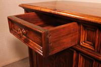 Italian Credenza In Walnut And Pear Wood Inlays - 17th Century (10 of 13)