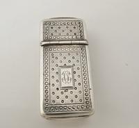 French antique silver combination vesta/cheroot cutter Paris c 1880 (12 of 14)