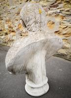 Large Composite Stone Statue On Column - Julius Cesar (10 of 11)