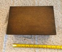 Small Oak Box - Possibly A Tea Caddy (4 of 8)