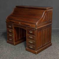 Early 20th Century Mahogany Desk (8 of 15)