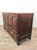 18th Century Welsh Oak Coffer with Panel Front (7 of 19)