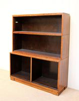 Minty Art Deco Open Bookcase (8 of 10)