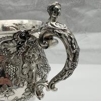 Antique George II Large Rococo Silver Cup & Cover London 1755 William Grundy (7 of 12)