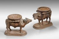 Pair of Late 19th Century Water Buffalo (2 of 5)