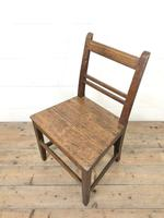 Selection of Six 19th Century Welsh Oak Farmhouse Kitchen Chairs (6 of 10)