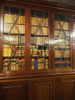 Large George III Style Mahogany 6 Door Cabinet Bookcase (7 of 17)