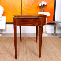 Folding Writing Desk 19th Century Mahogany (13 of 17)