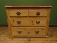 Antique Victorian Rustic Pine Nautical Boat Yard Chest of Drawers, sink unit (2 of 12)