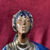 "Erte (romain De Tirtoff) Ltd Edition Bronze Sculpture ""Ecstasy"" 163/500 (5 of 16)"