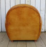 Large French Leather Club Chair (9 of 10)