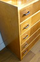 1930s Heals Golden Oak 5 Drawer Chest of Drawers (8 of 14)