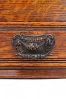 Small Edwardian Arts & Crafts Oak Cabinet (13 of 16)