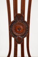 Pretty Mahogany Open Carver Chair (6 of 8)