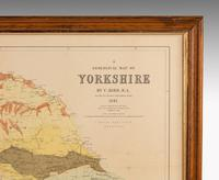 Attractive Hand Coloured Print of Yorkshire (2 of 3)