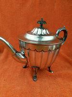 Antique Silver Plate Sheffield Teapot - Art Deco  C1920 (9 of 11)