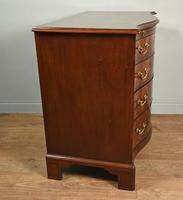 Regency Mahogany Serpentine Chest of Drawers (4 of 11)