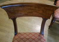 Set 6 George III Mahogany Trafalgar Chairs (6 of 6)