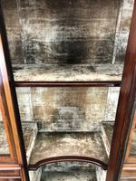 Antique Glazed Display Cabinet (4 of 14)