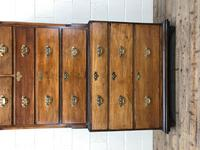 Early 19th Century Oak Secretaire Tallboy Chest on Chest (11 of 17)