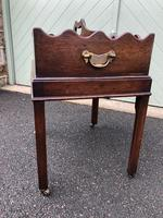 Antique Mahogany Tray on Stand (4 of 6)