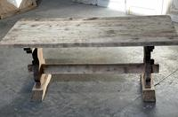 French Bleached Refectory Farmhouse Dining Table (21 of 21)
