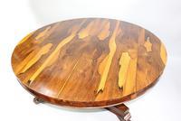 Fine William IV Sabina Wood Centre Table c.1830 (6 of 10)