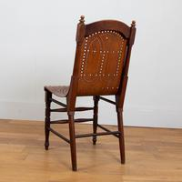 Pair Attractive Victorian Pierced Bentwood Side Chairs (12 of 14)