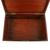 Mahogany & Satinwood Deed Box (4 of 8)