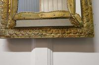 Napoleon III French Brass Cushion Mirror (5 of 7)