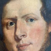 Pair of Victorian Oil Portraits (5 of 6)