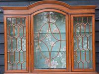 Superb, Fine Quality Edwardian Satinwood Display Cabinet c.1901 (17 of 19)
