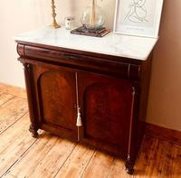 Antique Sideboard / Mahogany Antique Chiffonnier / Cupboard (2 of 7)