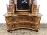 Antique 19th Century Concave Mahogany Dressing Table (4 of 21)