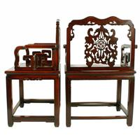 Qing Dynasty Hongmu Throne Chairs (5 of 8)