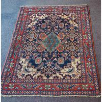 Antique Persian Hamadan Rug. Lovely Design (3 of 6)