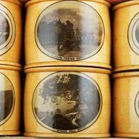 Set of Mauchline Ware Napkin Rings (2 of 8)