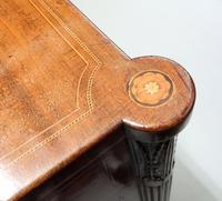 Georgian Figured Mahogany Pedestal Sideboard (5 of 14)