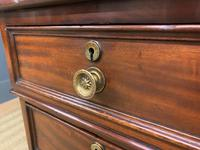 Early Victorian Mahogany Pedestal Desk by M Wilson of London (7 of 16)