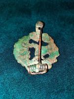 14th-16th Century Scottish Bronze Cloak Brooch (6 of 6)