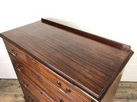 Antique Edwardian Mahogany Chest of Drawers (4 of 15)