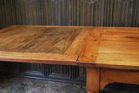 Large Extending Cherrywood Farmhouse Table (4 of 12)