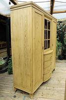 Beautiful! Rare! Old Pine Triple 'Knock Down' Wardrobe (6 of 17)