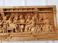 'Last Supper' High Relief Carving in Lime Wood, by Scottish Sculptor Alan Lees (7 of 9)